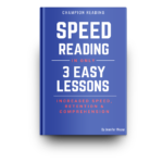 Blue Book Cover for Speed Reading in Only 3 Easy Lessons