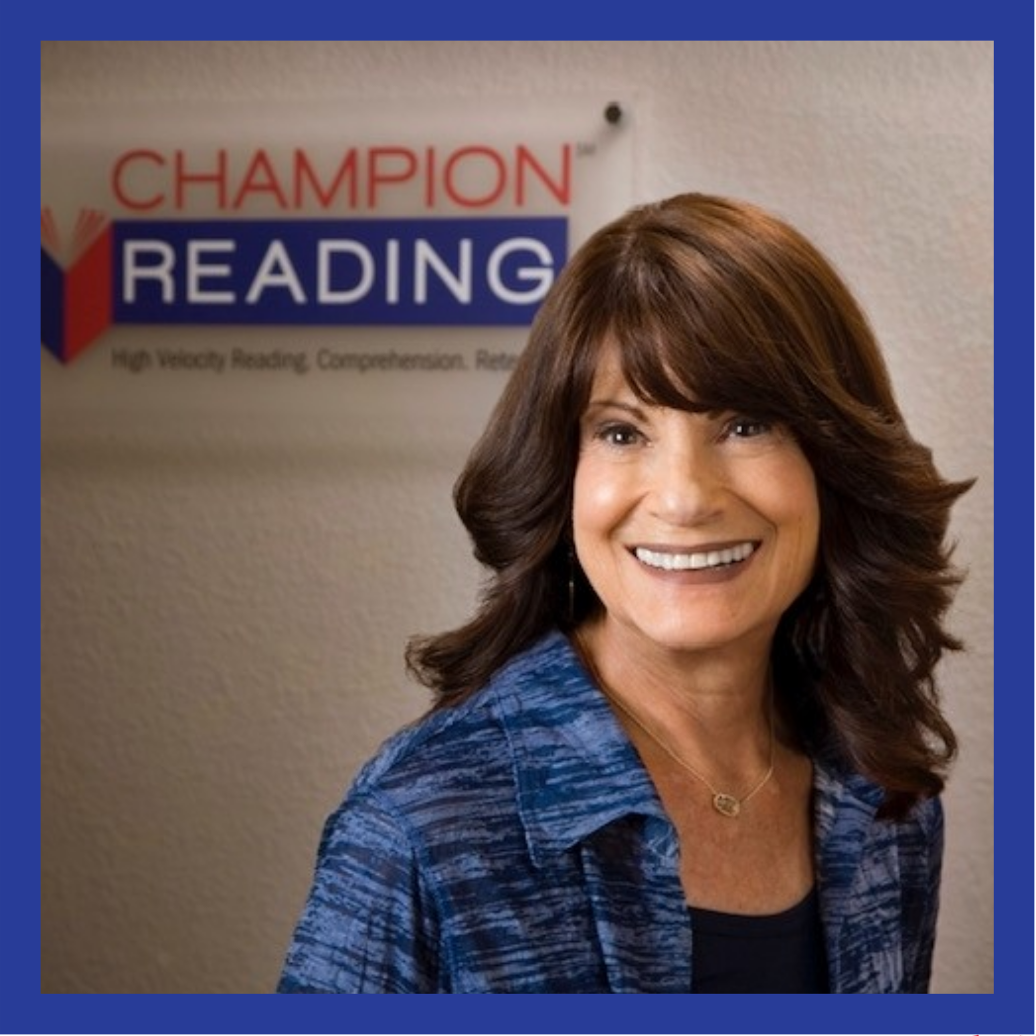 Lois with Champion Reading of Broward
